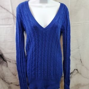 American Eagle Outfitters Sz L Cable Knit Sweater